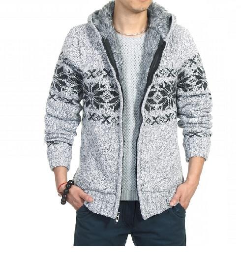 Veste de laine fabriquée en France