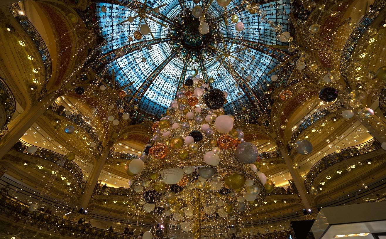 Touristes et magasins de luxe
