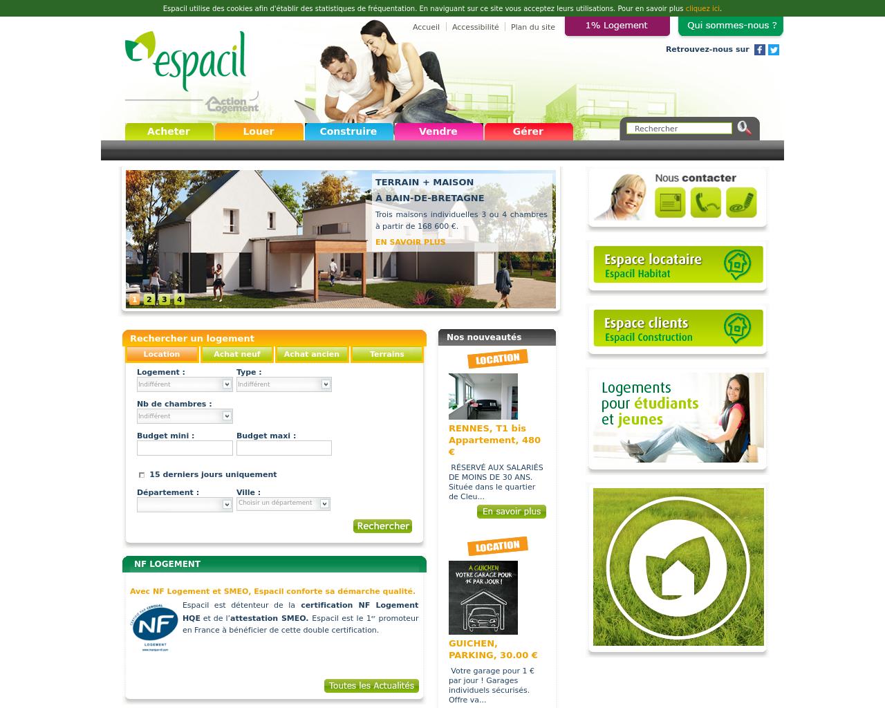 Acheter un logement neuf dans l'Ouest de la France