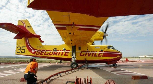 Les 5 dates clés déménagement des Canadair de Marseille Marignane vers Nimes-Garons