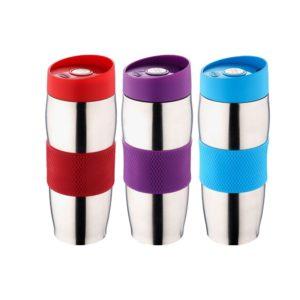 Un mug isotherme 2 en 1 pour une boisson chaude ou fraîche!