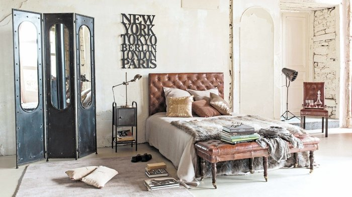 Une chambre style loft new-yorkais ou style factory