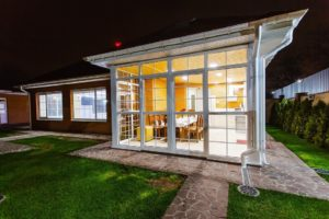Espaces extérieurs: la conception de la véranda