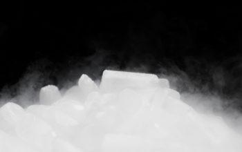 glace carbonique